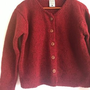 Columbia sweater or cardigan wooden button down